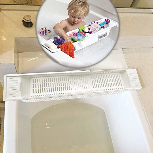 senweit-bad-caddy-tray-rack-badewanne-brucke-shampoo-seife-spielzeug-halterung-weiss-dusche-badregal
