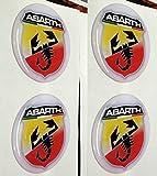 Farben 50mm Tuning Effekt 3d 3m geharzt Radkappen Nieten Caps Aufkleber Stickers für Alufelgen X 4Stück