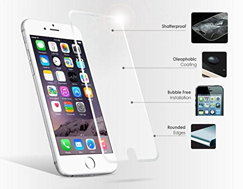 AE MOBILE ACCESSORIES AE Tempered Glass Screen Scratch Protector Guard for Apple Iphone 6 4.7 Front and Back