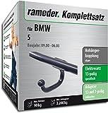Rameder Komplettsatz, Anhängerkupplung starr + 13pol Elektrik für BMW 5 (142639-01449-2)