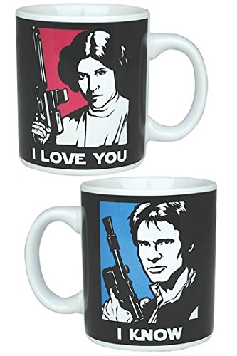 Star Wars - Han Solo And Princess Leia Mug