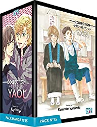 Boy's Love Collection - Pack n°15 - Manga Yaoi (5 tomes)