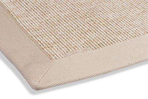 Preisvergleich Produktbild Webteppich in Sisal-Optik Naturino Rips natur Size 200 x 290 cm