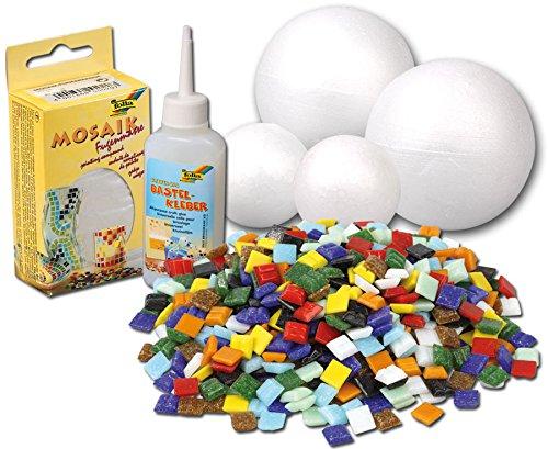 betzold-mosaik-kugeln-mosaiksteine-deko-kugeln-bastelset-606-teile-inkl-styroporkugeln-spezialkleber