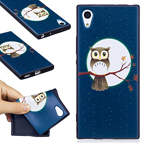 kelman Handyhülle für Sony Xperia XA1 / Z6 Hülle Schutzhülle - Soft Silikon TPU Anti-Rutsch Telefonschutzabdeckung Telefonkasten - [#BF58]