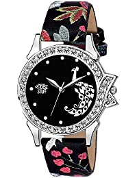 Swadesi Stuff Stylish Black Analog Watch for Girls and Women Watch -for Girls