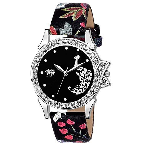 Swadesi Stuff Stylish Black Analog Watch for Girls and Women Watch -for Girls