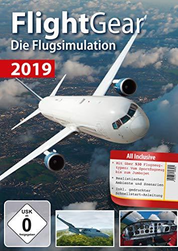 Flight Gear 2019 Flugsimulation - über 530 unterschiedliche Flugzeugtypen für Windows 10 - 8.1 - 8 - 7