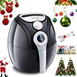 Electric Air Fryer, Blusmart Power AirFry Oil Free/less with Temperature and Time Control