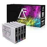 Alphafax 4 Tintenpatronen für Epson Workforce WF-6590 WF-6090