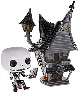 Funko- Pop Figura De Vinil: Town: Nightmare Before Christmas-Jack-Jack