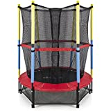 Skyjumper Kids Jumping Trampoline With Enclosure