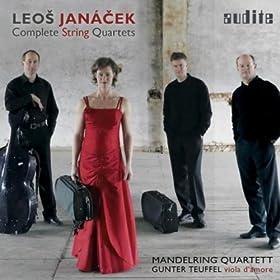 """Leo? Jan�?ek: Complete String Quartets (String Quartet No. 1 """"Kreutzer Sonata"""" & String Quartet No. 2 """"Intimate Letters"""" in both Versions [Viola & Viola D'amore])"""
