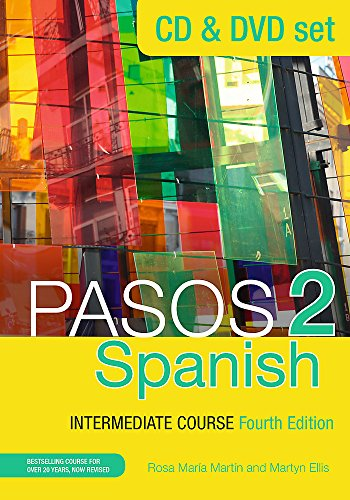 Pasos 2 (Fourth Edition) Spanish Intermediate Course (CD & DVD Set)