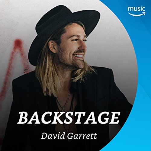Backstage mit David Garrett