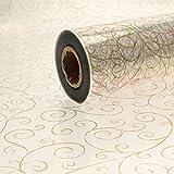 Rollo de papel celofán transparente (10 m x 80 cm) Ideal para decoras ramos de flores o cestas.