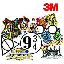 Elton 3M Vinyl Sticker Pack [9-Pcs], Lovely 3M Vinyl Harry Potter - 1 Stickers For Laptop, Cars, Motorcycle, PS4. X Box One . Guitar Bicycle, Skateboard, Luggage - Waterproof Random Sticker Pack