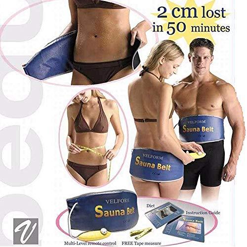 QHHE Körper Abnehmen Sauna Gürtel Taille Bauchmassage Für Weight Loss Heizung Fettverbrennung Werkzeug Ab Gymnic Gürtel Cellulite RelaxUS Plug