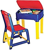 #6: Study Table & Chair Set for Kids Unisex Desk for Boys & Girls RED & Blue