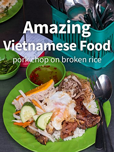 Amazing Vietnamese Food - Pork Chop on Broken Rice! [OV] Chop Plate