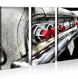 islandburner Bild Bilder auf Leinwand Amischlitten Cadillac XXL Poster Leinwandbild Wandbild art up your life ®