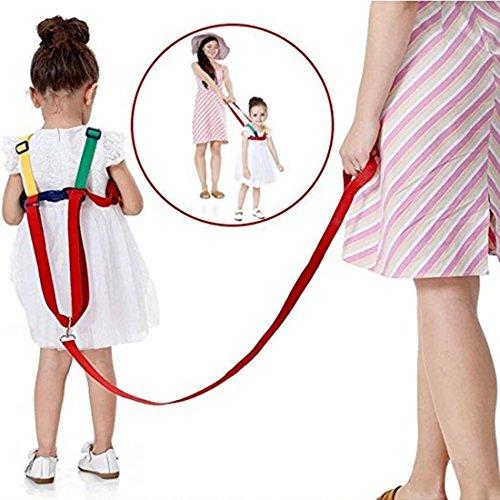 TJ HLD Baby Anti Verlust Gürtel, Walking Sicherheitsgurt Handschlaufe und Gürtel Handgelenk Link Blei Sicherheitsgurt Sicheit für Alter 0 ~ 5 - Kinder (yrllow)