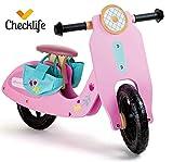 Checklife 90499 Laufrad Rosa Flitzer Wespa Vespa Roller Lauflernfahrrad
