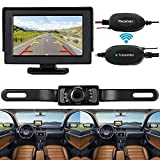 ShiningLove CE Wireless Backup Camera and Monitor Kit Rear View System Night Vision Waterproof