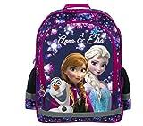 Disney Frozen DIE EISKÖNIGIN Schultasche Tasche Schulranzen Schulrucksack Rucksack + Sticker von Kids4shop