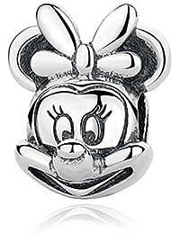 19 Charms 100% Plata de Ley 925 para pulseras para charms tipo Pandora, Chamilia, Biagi, Swarovski. Abalorios,beads,dijes,charms plata