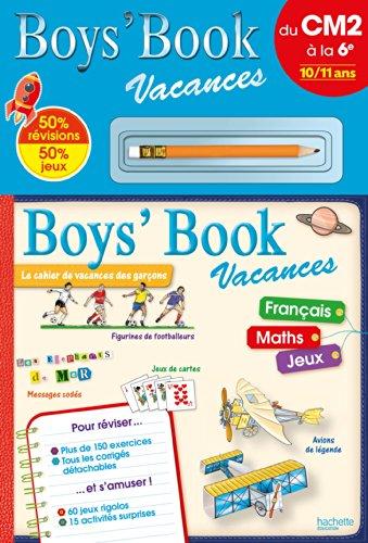 Boys' Book Vacances - Du CM2 à la 6e