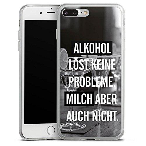Apple iPhone X Slim Case Silikon Hülle Schutzhülle Alkohol Party Sprüche Silikon Slim Case transparent