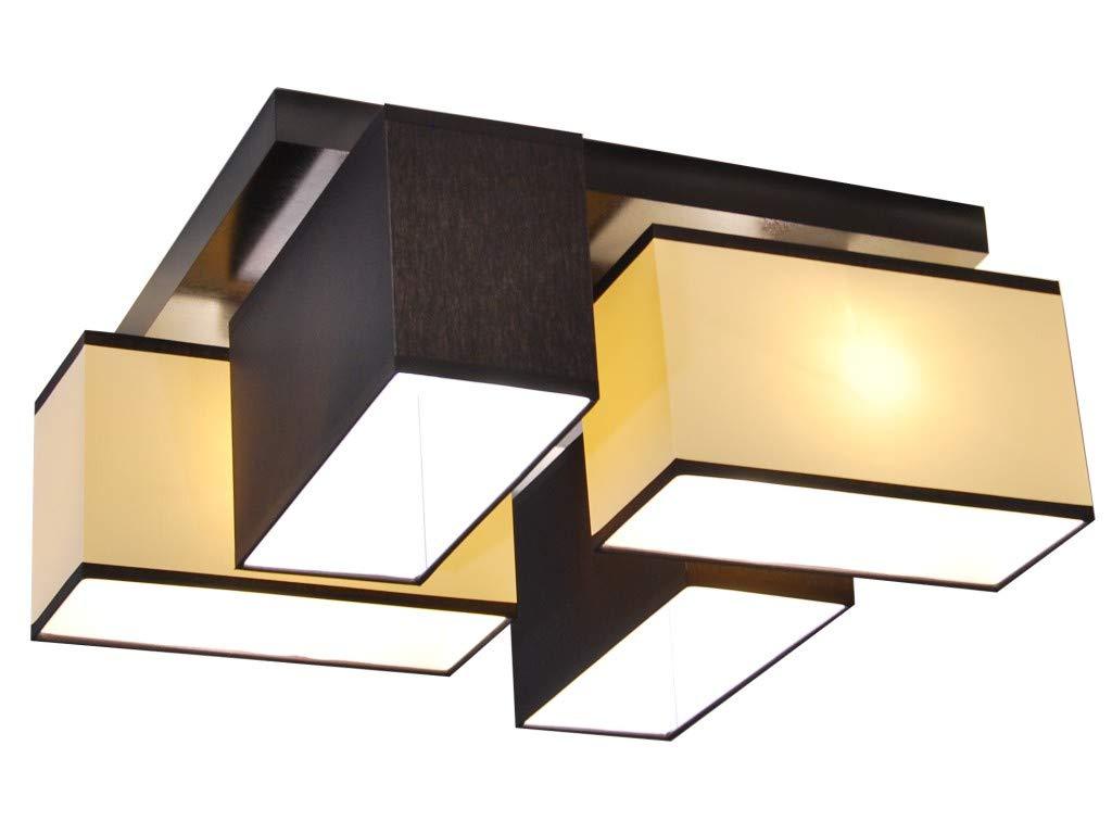 Plafoniere A Soffitto Per Cucina : Plafoniera illuminazione a soffitto in legno massiccio jls d