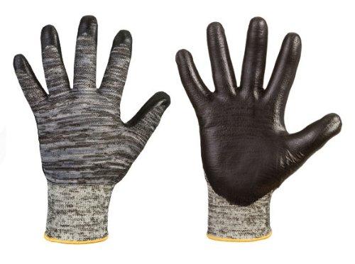 Stronghand Feinstrick–VIO Schutz Handschuhe 'Ash, 100% Kenima, transparent, Layer der PU Palm, Sehr gute Passform, Geschicklichkeit,...