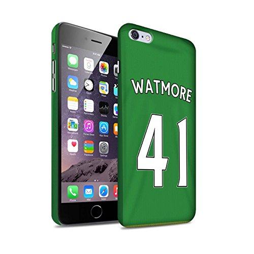 Offiziell Sunderland AFC Hülle / Matte Snap-On Case für Apple iPhone 6S+/Plus / Pack 24pcs Muster / SAFC Trikot Away 15/16 Kollektion Watmore