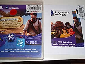 PlayStation Network Card (20 Euro) im Uncharted 3 Design