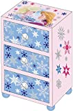 Disney Frozen-Schmuckkästchen aus Holz mit Drei Schubladen (Kids Euroswan wd16337)