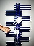 Reibu Reinigungsgerät aus Mikrofaser für Radiatoren und Röhrenheizkörper von Schwarz-Technik - staubbindend, zum Trocken- und Nassputzen, jede Stelle leicht zu erreichen, Bezug abnehmbar
