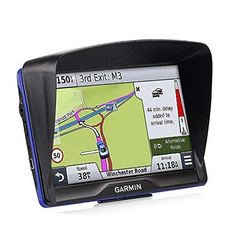 Zhiyi Visière Antireflet pour Navigateur GPS - Garmin Nüvi 2797 LMT GPS Auto Ecran 7 Pouces