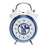 FC Schalke 04 Glocken Wecker (one size, blau/weiß)