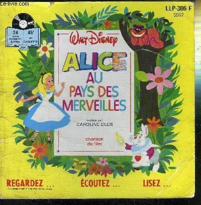 ALICE AU PAYS DES MERVEILLES RACONTE PAR...