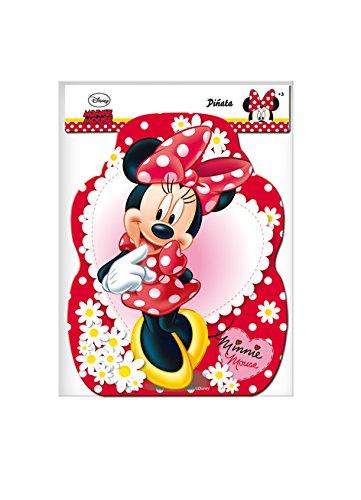 Minnie Mouse - Piñata perfil lunares, 33X46 cm (Verbetena 014000296)