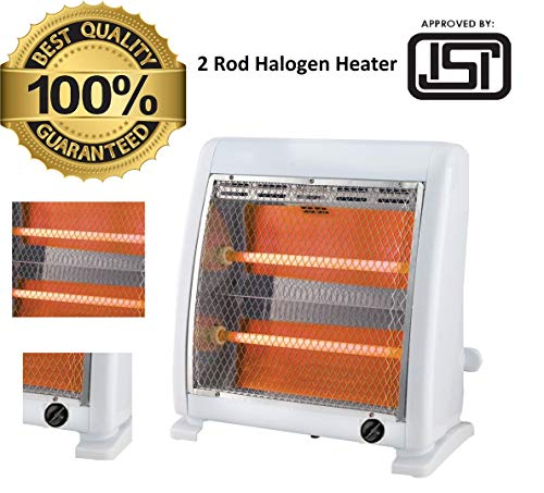 FAVY Laurels 2 ROD HALOGEN HEATER    ISI Approved (IS:368)    4 Layer Protection To Save Brockage