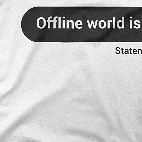 BLAK TEE -  T-shirt - Donna White