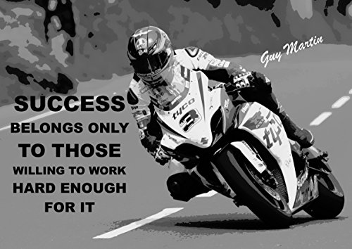 guy-martin-inspirational-quote-inspirational-poster-print-picture-a3-success-belongs