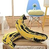 Xiuxiandianju Simulation Fruchtkissen von Dual-Use-Kissen kreative Bananenkissen Car Kissen Büro Bett Sofa Kissen Steppdecke