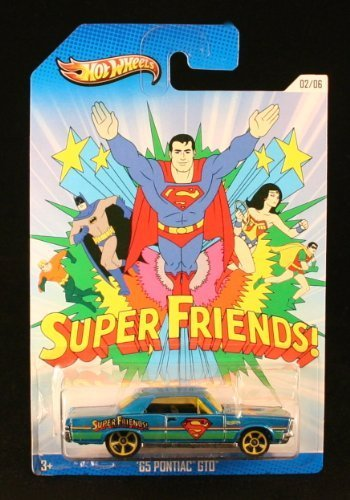 65-pontiac-gto-super-friends-2013-hot-wheels-superman-dc-comics-exclusive-die-cast-vehicle-by-hot-wh
