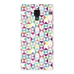 Trangel Color Print Back Case Cover for Redmi 1S