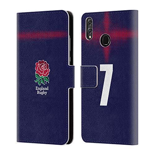 Head Case Designs Offizielle England Rugby Union Position 7 2016/17 Alternate Kit Brieftasche Handyhülle aus Leder für Huawei Honor 8X / View 10 Lite - 7 X 10 Rugby