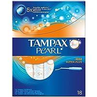 Tampax Super Plus Perlen-Applikator-Tampons ohne Duft (18) - Packung mit 2 preisvergleich bei billige-tabletten.eu